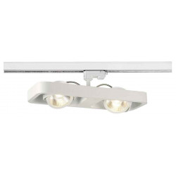 LYNAH double spot blanc LED 2x10W 3000K adaptateur 3 all inclus
