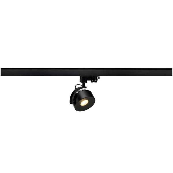 KALU TRACK LEDDISK spot noir 3000K adapt 3 all inclus