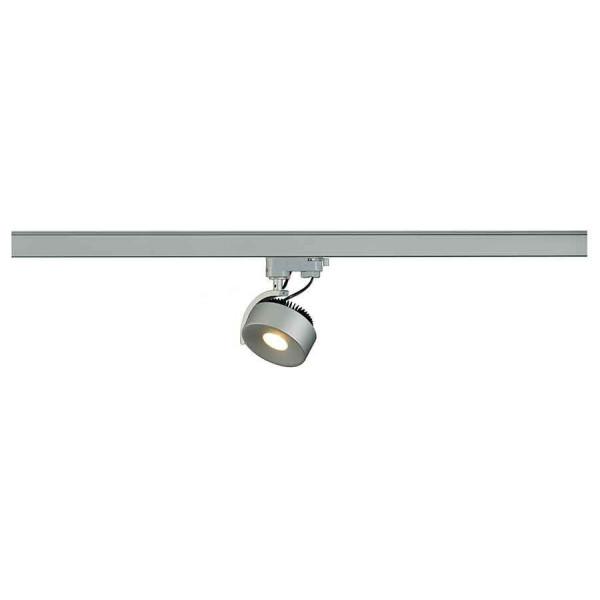 KALU TRACK LEDDISK spot gris argent 3000K adapt 3 all inclus