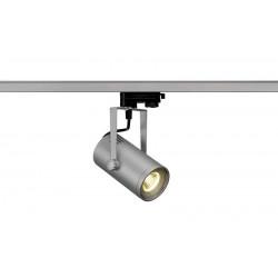 EUROSPOT LED SMALL gris argent COB LED 9W 3000K 36° adapt 3 all inclus