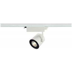 SUPROS TRACK 3000 blanc 3000lm 3000K SLM LED 60° adaptateur 3 allumages inclus