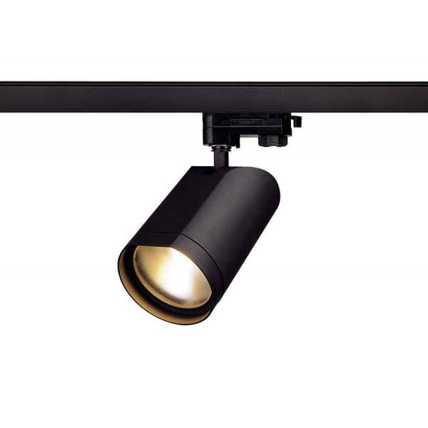 BILAS LED spot rond noir LED 15W 2700K 60° adapt 3 all inclus