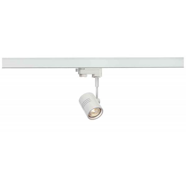 BIMA 1 spot blanc mat GU10 max 50W adaptateur 3 allumages inclus