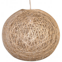Suspension sisal naturel