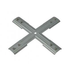 Renfort en X pour rail 1 allumage 230V nickel