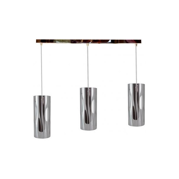 Suspension triple for Luminaire triple suspension