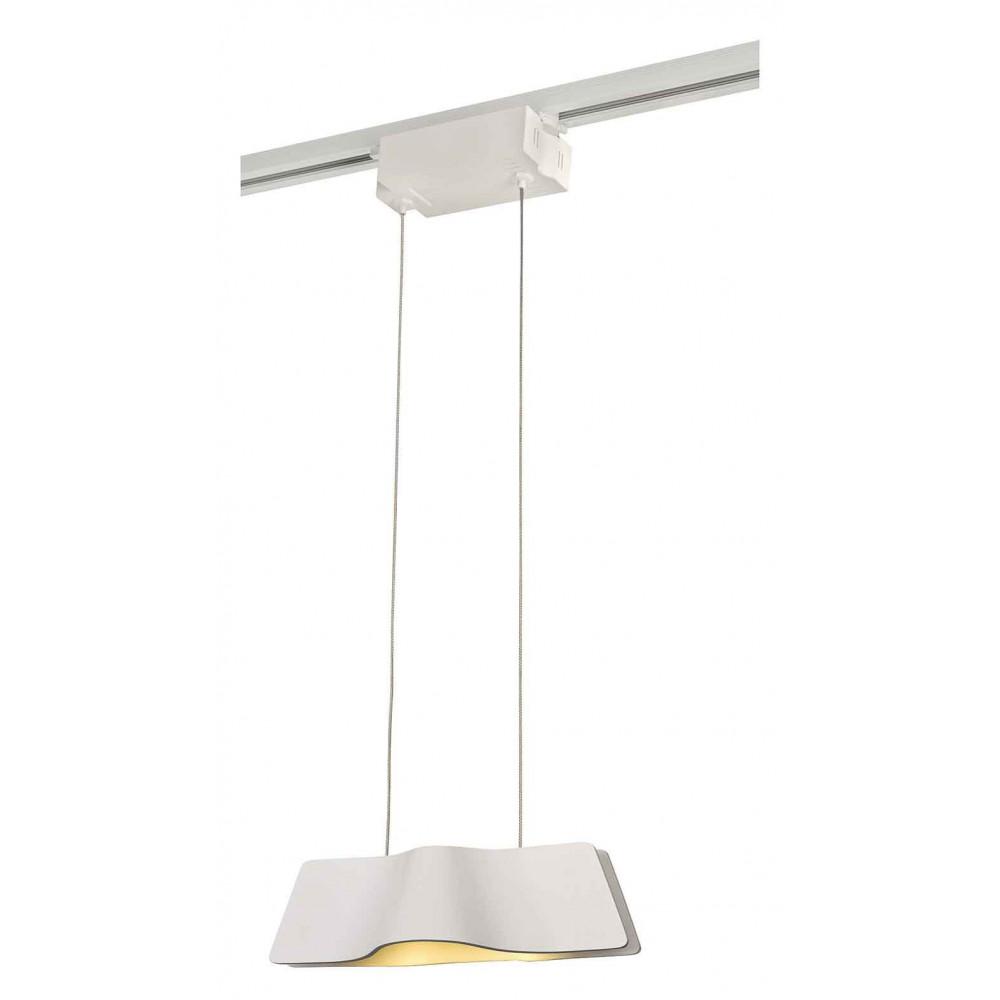 Luminaire rail 1 allumage 230v aluminium et plastique for Luminaire exterieur plastique
