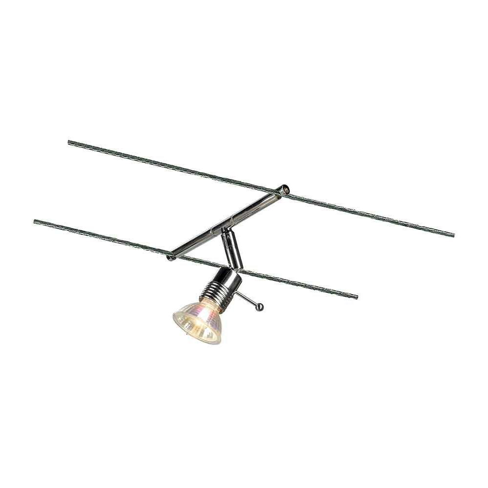 syros spot pour câble tendu chrome mr16 max 50w