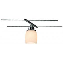 SURA spot pour câble tendu chrome céramique blanche GY635 max 50W