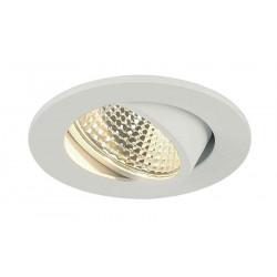 KIT TRIA LED 3W DL ROND encastré blanc mat 3W 38° 3000K