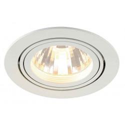 TRIA LED DISK encastré rond blanc 2700K 35° clips ressorts