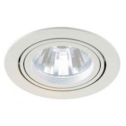TRIA LED DISK encastré rond blanc 4000K 35° clips ressorts