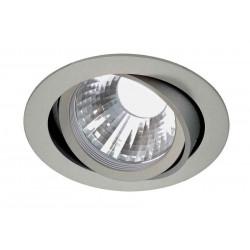 TRIA LED DISK encastré rond gris argent 4000K 35° clips ressorts