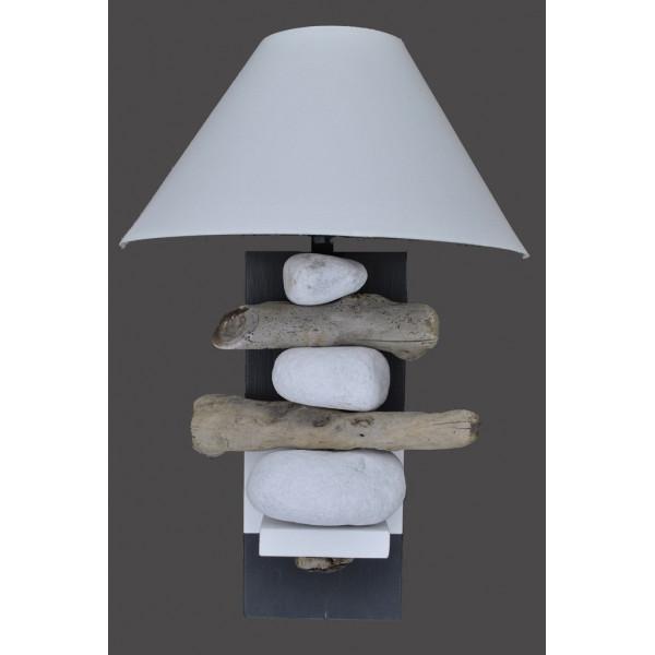 applique bois flott gris ardoise. Black Bedroom Furniture Sets. Home Design Ideas