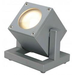 CUBIX 1 projecteur gris argent GU10 éco énergie max 25W