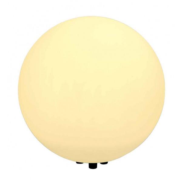Grande lampe boule ext rieure ip44 poser 50cm for Luminaire exterieur blanc