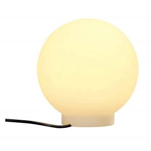Luminaire boule ext rieur blanc 25cm for Luminaire exterieur blanc