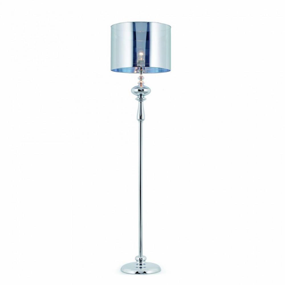 Lampadaire chrom design - Lamparas de mesa originales ...