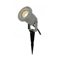 NAUTILUS PIQUET gris argent GU10 max 35W câble 15m avec fiche et câble 15m