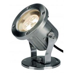 NAUTILUS LED 304B inox brossé 3x1W 3500K IP55