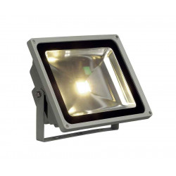LED OUTDOOR BEAM gris argent 50W 3000k 100° IP65
