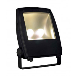 LED FLOOD LIGHT noir 80W 3000K 120°