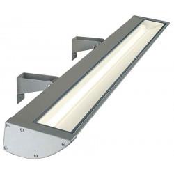 VANO WING luminaire extérieur gris argent T5 éco énergie max 54W IP65