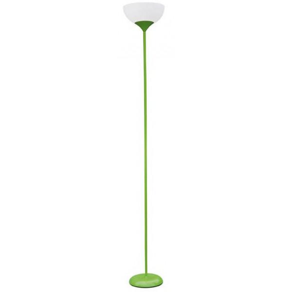Lampadaire métal vert -30%