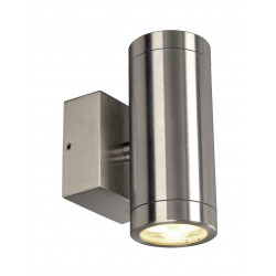 ASTINA LED UPetDOWN applique Inox 316 LED 2x3W 3000K IP44