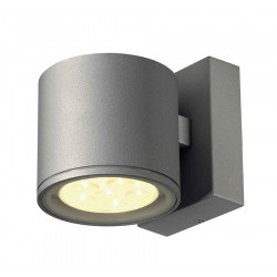 SITRA 6x1W LED applique gris argent 3000K IP44