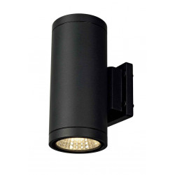 ENOLA_C OUT UP-DOWN applique ronde anthracite 9W LED 3000K