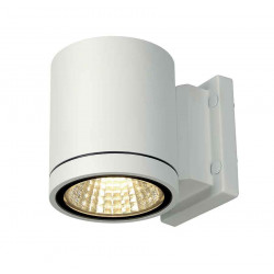 ENOLA_C OUT WL applique ronde blanche 9W LED 3000K 35°