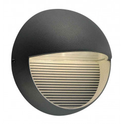 LED DOWNUNDER ROND applique anthracite 3x1W 3000K IP44