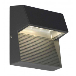 LED DOWNUNDER CARRE applique anthracite 3x1W 3000K IP44