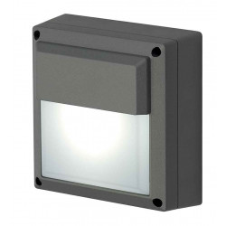 WL 172 GX53 applique carrée anthracite max 11W