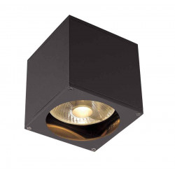 BIG THEO WALL OUT applique carré anthracite ES111 max 75W