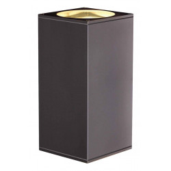 BIG THEO UPetDOWN OUT applique carré anthracite ES111 max 2x75W