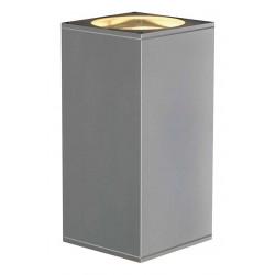 BIG THEO UPetDOWN OUT applique carrée gris argent ES111 max 2x75W