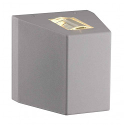 OUT BEAM LED 1 faisceau applique gris argent 83W 3000K