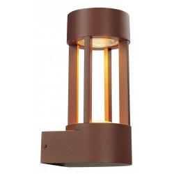 SLOTS WALL applique fonte rouillée 63W LED 3000K