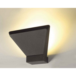 TRAPECCO WALL UP applique anthracite LED 10W 3000K 850lm IRC80