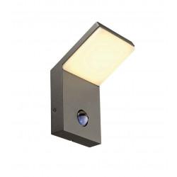 ORDI applique LED anthracite 3000K 9W avec détecteur de mouvement