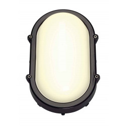 TERANG LED applique et plafonnier ovale anthracite 11W LED 3000K