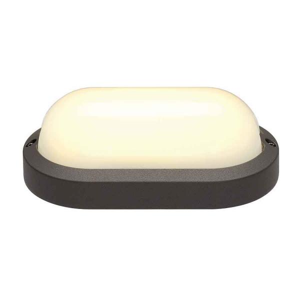Applique Extu00e9rieure LED Ovale Anthracite