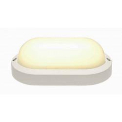 TERANG 2 applique et plafonnier ovale blanc 11W LED 3000K