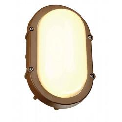 TERANG LED applique et plafonnier ovale fonte rouillée 11W LED 3000K