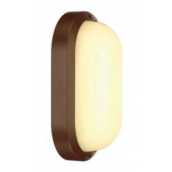 TERANG 2 applique et plafonnier ovale fonte rouillée 11W LED 3000K