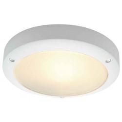 BULAN applique ronde blanche E14 max 60W verre satiné
