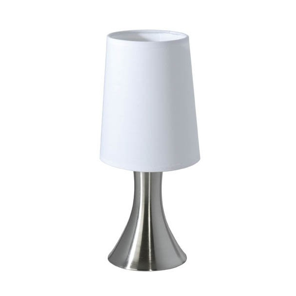 Acheter une lampe chevet tactile en alu bross - Lampe chevet tactile ...