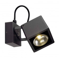 BIG NAUTILUS SQUARE LED applique carrée anthracite 12W 3000K